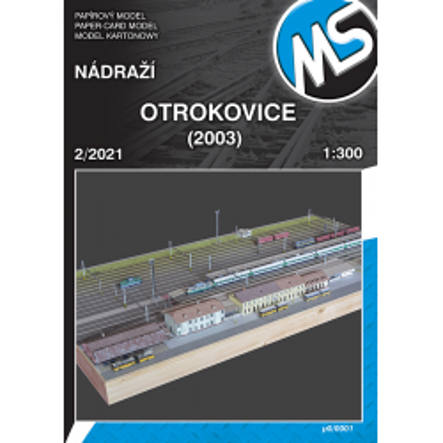 Railway station Otrokovice...